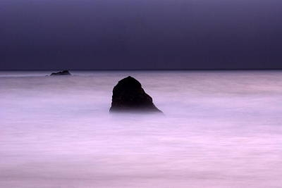 Seascape Photograph - zen by Catherine Lau