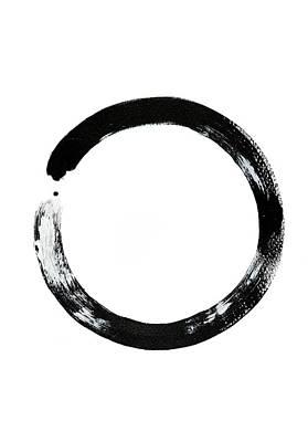 Cycles Painting - Zen Circle by Maria Arnaudova