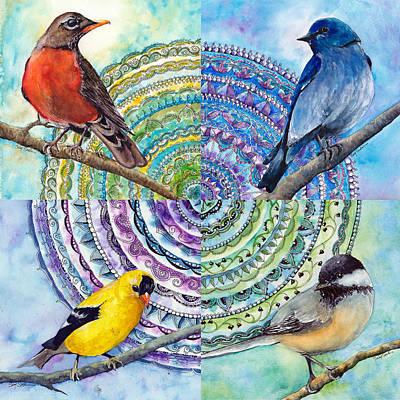 Zen Circle Original by Susy Soulies