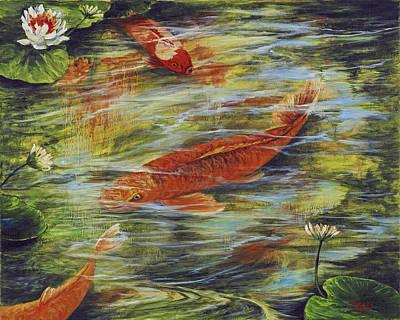 Painting - Zen Garden  by Darice Machel McGuire