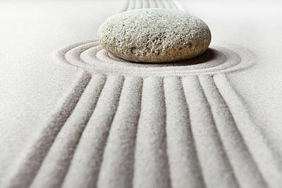 Photograph - Zen Garden - Focus by Dirk Ercken