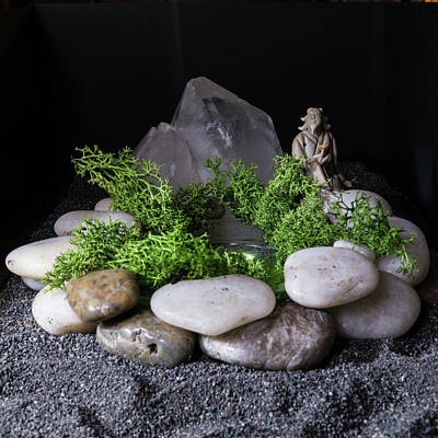 Photograph - Zen Garden by Keith Elliott