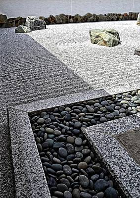 Photograph - Zen Garden by Michelle Calkins