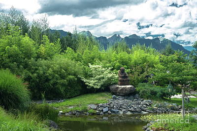 Photograph - Zen Garden by Michelle Meenawong