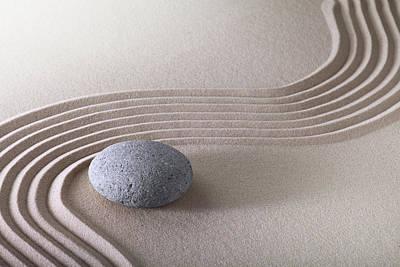 Photograph - Zen Garden - Stone Harmony by Dirk Ercken