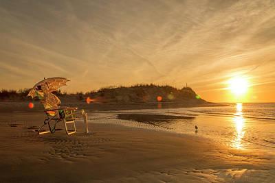 Beach Photograph - Zen Light by Betsy Knapp