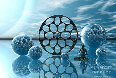 Zen Digital Art - Zen Moment by Sandra Bauser Digital Art