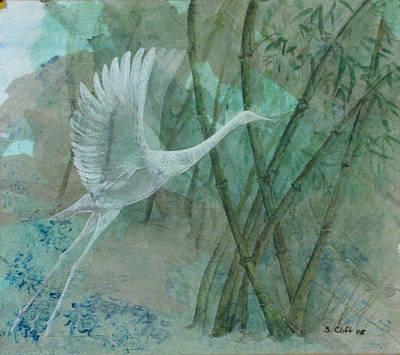 Zen Morning Art Print by Sandy Clift
