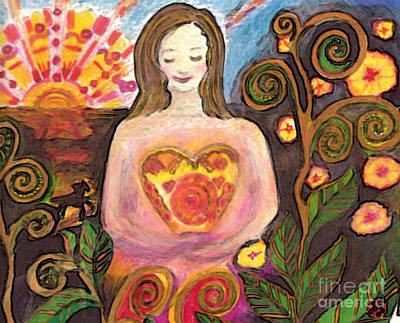 Zen Morning Art Print