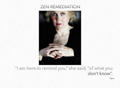 Portrait Photograph - Zen Remediation  by Steven Digman
