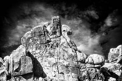 Photograph - Zen Rocks II Bw by Sandra Selle Rodriguez