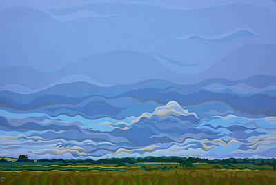 Zen Sky Art Print