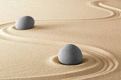 Photograph - Zen Stone Harmony by Dirk Ercken