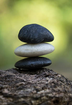 Photograph - Zen Stones by Dale Kincaid