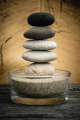 Zen Stones I Original by Marco Oliveira