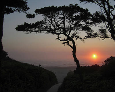 Photograph - Zen Sunset by HW Kateley
