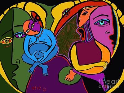 Digital Art - Zen Thoughts by Hans Magden