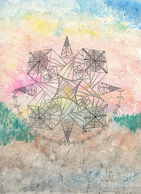 Painting - Zendala Jumprope by Lori Kingston