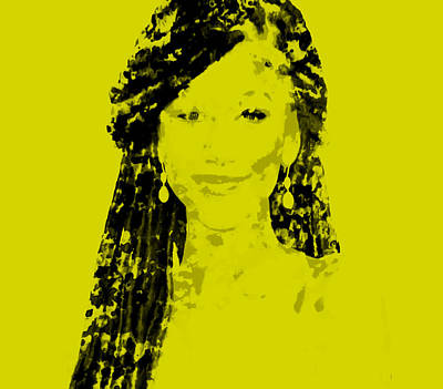 Aaliyah Mixed Media - Zendaya 3a by Brian Reaves