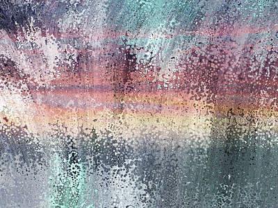 Mixed Media - Zenith Of Peace Abstract Art by Georgiana Romanovna