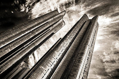 Zenith Towers Art Print