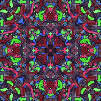 Zentao - Pattern Art Print