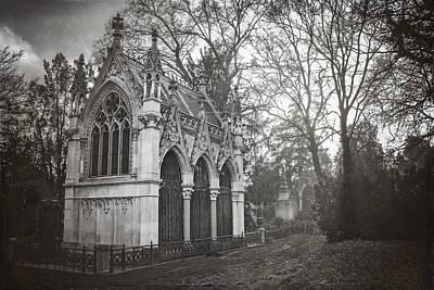 Photograph - Zentralfriedhof Vienna by Carol Japp