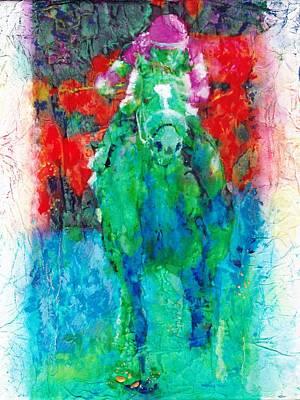 Zenyatta Mixed Media - Zenyatta by Sandra Swan