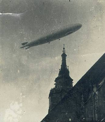 Vintage Zeppelin Art Print