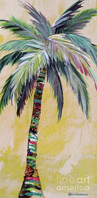 Painting - Zest Palm I by Kristen Abrahamson