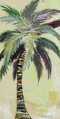 Painting - Zest Palm II by Kristen Abrahamson