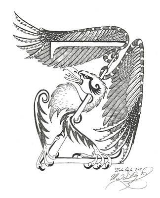 Zeta Eagle Art Print