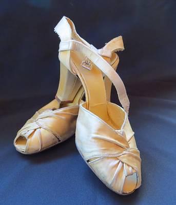 Photograph - Zettie's Cinderella Slippers by Patricia Urato
