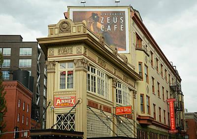 Zeus Photograph - Zeus Cafe 3 by Fraida Gutovich