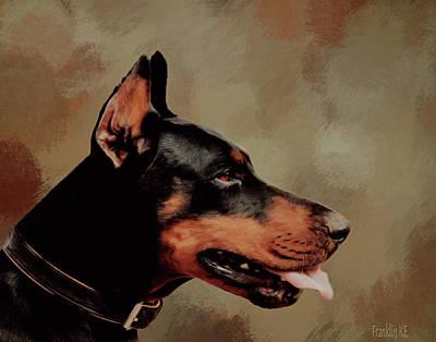 Animal Lover Digital Art - Zeus  by KaFra Art