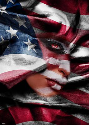 Asleep Mixed Media - Forgotten Patriot by G Berry