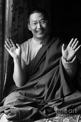 Photograph - Zha Xiu Lang Jia Rimpoche - Eastern Tibet by Craig Lovell