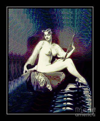 Digital Art - Ziegfeld Follies Girl - Dorothy Flood by Ian Gledhill
