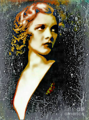 Ziegfeld Follies Girl - Drucilla Strain  Art Print