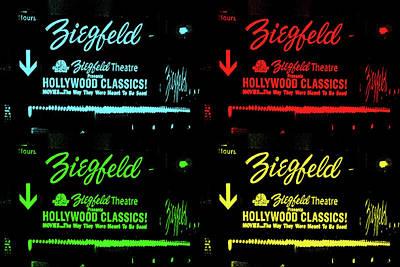 Photograph - Ziegfeld Theatre - New York - Pop Art by Pamela Critchlow