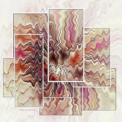 Deborah Brown Digital Art - Zig And Zag by Deborah Benoit