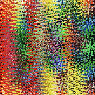 Digital Art - Zig Zag by Bill Owen