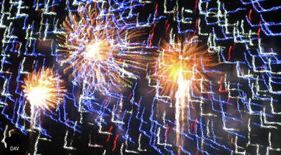 Photograph - Zig Zag Blast by Debra     Vatalaro