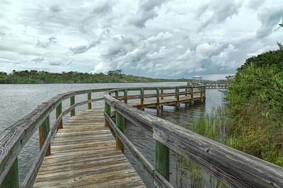 Photograph - Zig Zag Boardwalk by John M Bailey