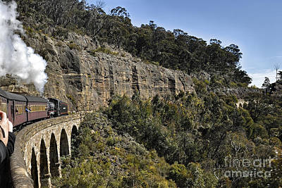 Photograph - Zig Zag Railway Lithgow New South Wales Australia by David Iori