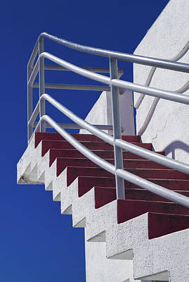 Photograph - Zig Zag Stairs San Francisco  by David Smith