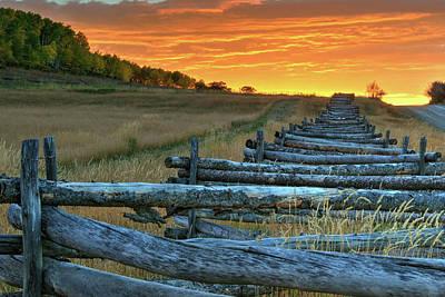 Photograph - Zig Zag Sunset by Steve Stuller