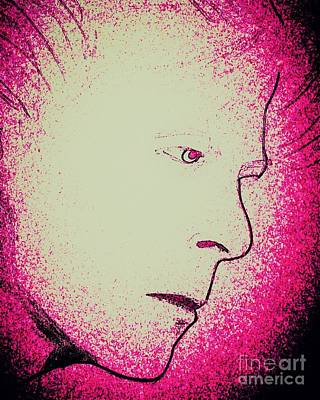 Ziggy Stardust Drawing - Ziggy 2 by Manuel Matas