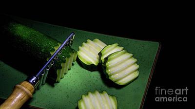 Photograph - Zigzag Zucchini by Deborah Klubertanz