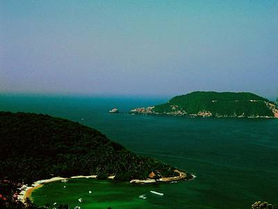 Photograph - Zihuatanejo Harbor by Gary Wonning